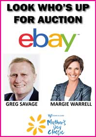 Greg Savage and Margie Warrell Auctions